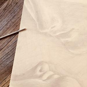 Zeichnen mit dem Silberstift | Zeichnen, Mischtechnik / Mixed Media