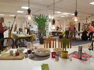 after work painting | Öl, Acryl, Aquarell, Pastellkreide, Collage, Mischtechnik / Mixed Media