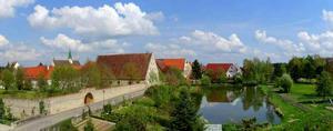 Kunst und Entspannungs-Reise zum historischen Kloster Heiligkreuztal | Acryl, Mischtechnik / Mixed Media, Pigmente