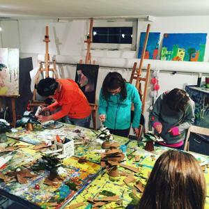 Wöchentliche Malkurse für Kinder 3 bis 17 Jahr ( Zurzeit ausgebucht) | Öl, Acryl, Aquarell, Zeichnen, Pastellkreide, Collage, Mischtechnik / Mixed Media, Gouache, Mosaik