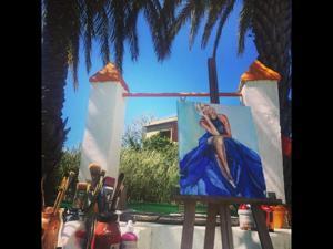 Malen am Atlantik: Kreativ-Urlaub in Andalusien | Acryl, Pastellkreide