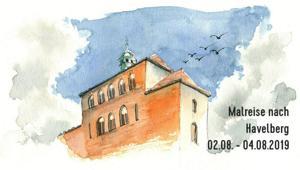Malreise Havelberg | Aquarell, Zeichnen