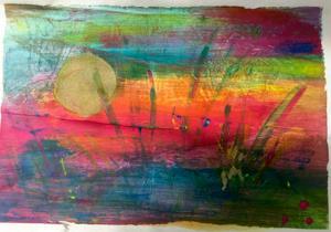 Farbenfroh durch den Sommer... | Acryl