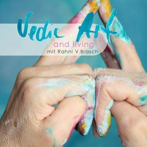 Vedic Art – intuitive Malkurse – Vertiefungskurs in Hamburg   Acryl, Pastellkreide, Collage, Mischtechnik / Mixed Media, Bleistift
