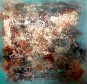 Malen mit Pigmenten | Acryl, Pigmente