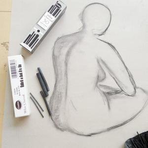 Aktzeichenkurs | Kohle, Bleistift